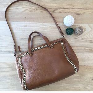 Zara genuine leather bag